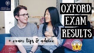 LIVE: OPENING OXFORD EXAM RESULTS + EXAM TIPS  | viola helen