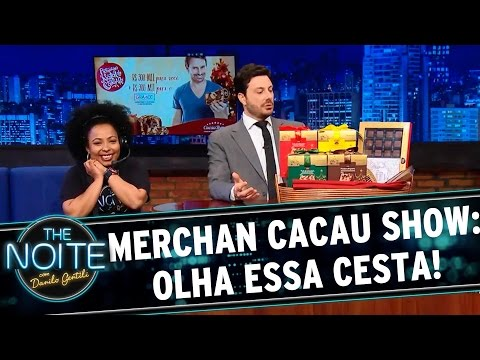 The Noite (09/12/15) - Merchan Cacau Show: O Natal Mais Chocolatudo Do Brasil