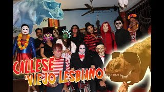 AUXILIO ME DESMAYO CALLÉSE VIEJO LESBIANO | Halloween