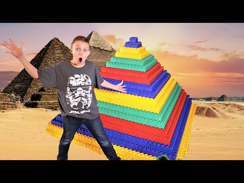 GIANT LEGO Pyramid Fort!