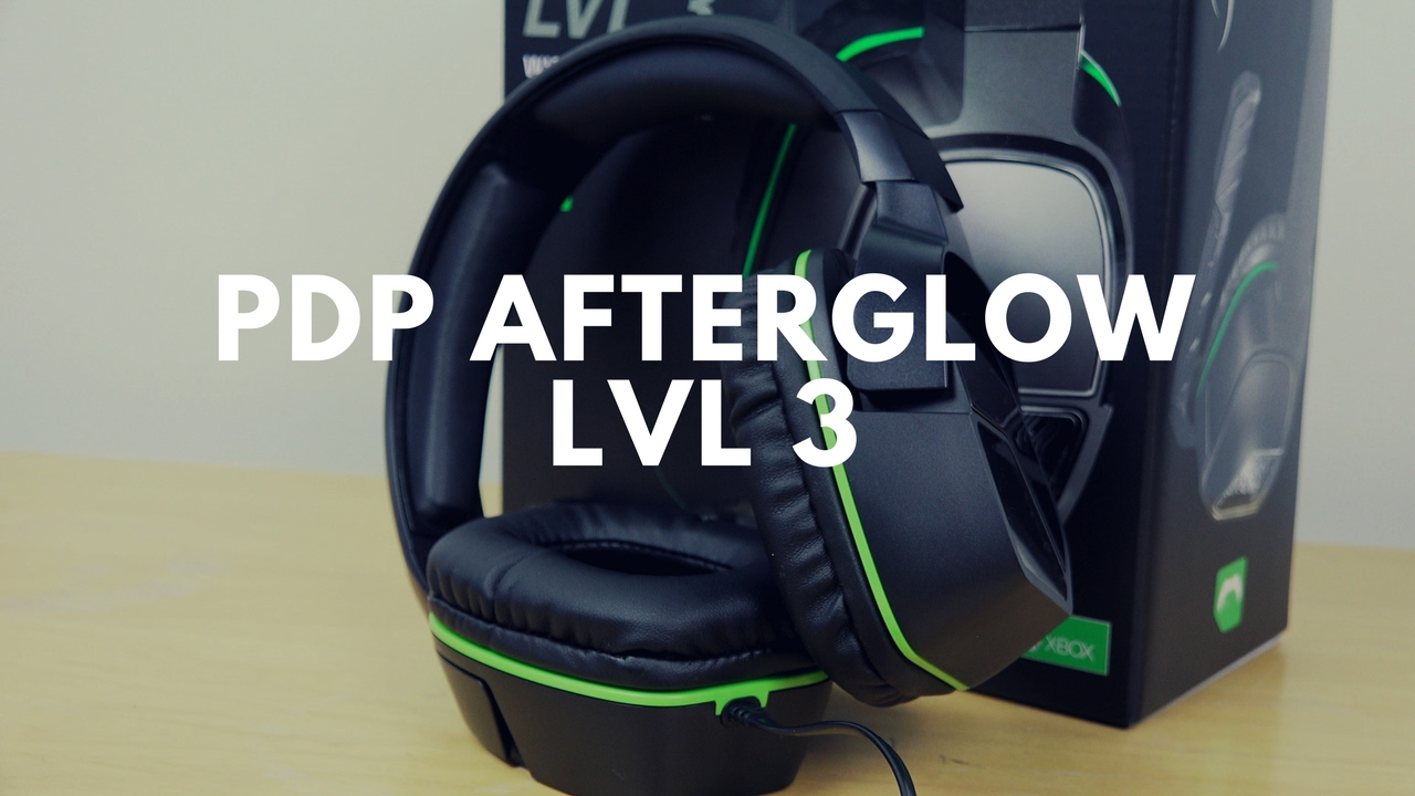 6c5eb4b9e0a PDP Afterglow LVL 3 : Soslid Sub $30 Gaming Headset - YouTube