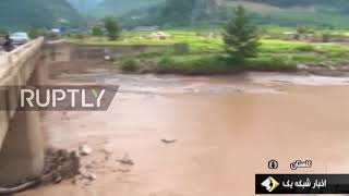 Iran  Severe flooding hits north western provinces leaving 11 dead