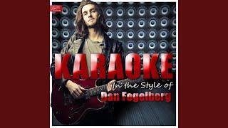 Sutter's Mill (In the Style of Dan Fogelberg) (Karaoke Version)