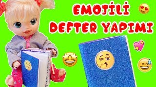 Video Baby Alive Blonde Emoji Defter Yapımı | Diy - Kendin Yap | Oyuncak Butiğim download MP3, 3GP, MP4, WEBM, AVI, FLV November 2017