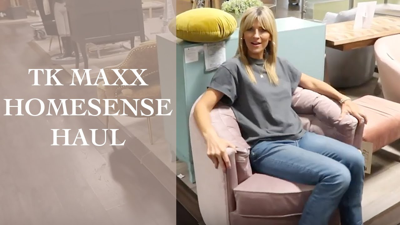 [VIDEO] - TK MAXX & HOMESENSE HAUL | Behind the scenes 2019 2