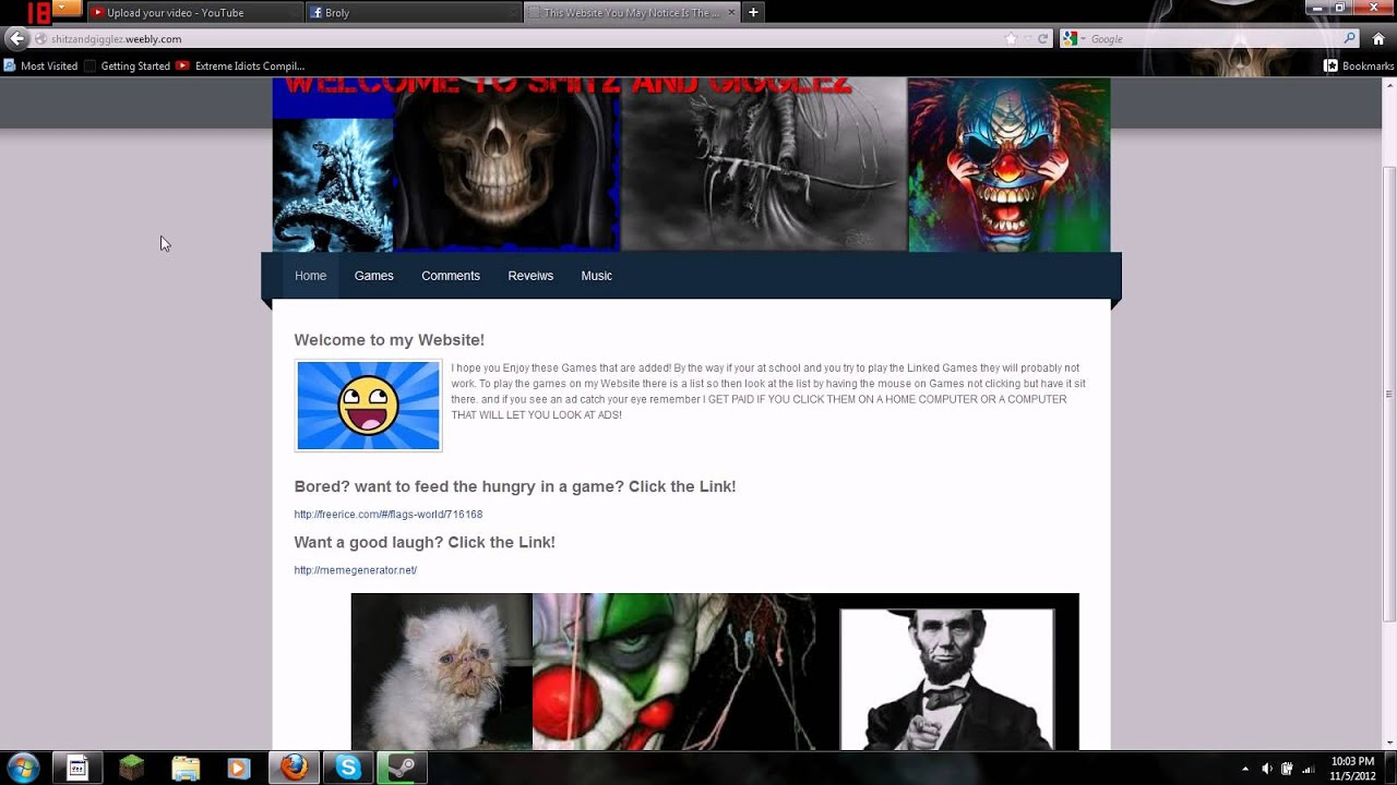 Unblocked school website with games youtube