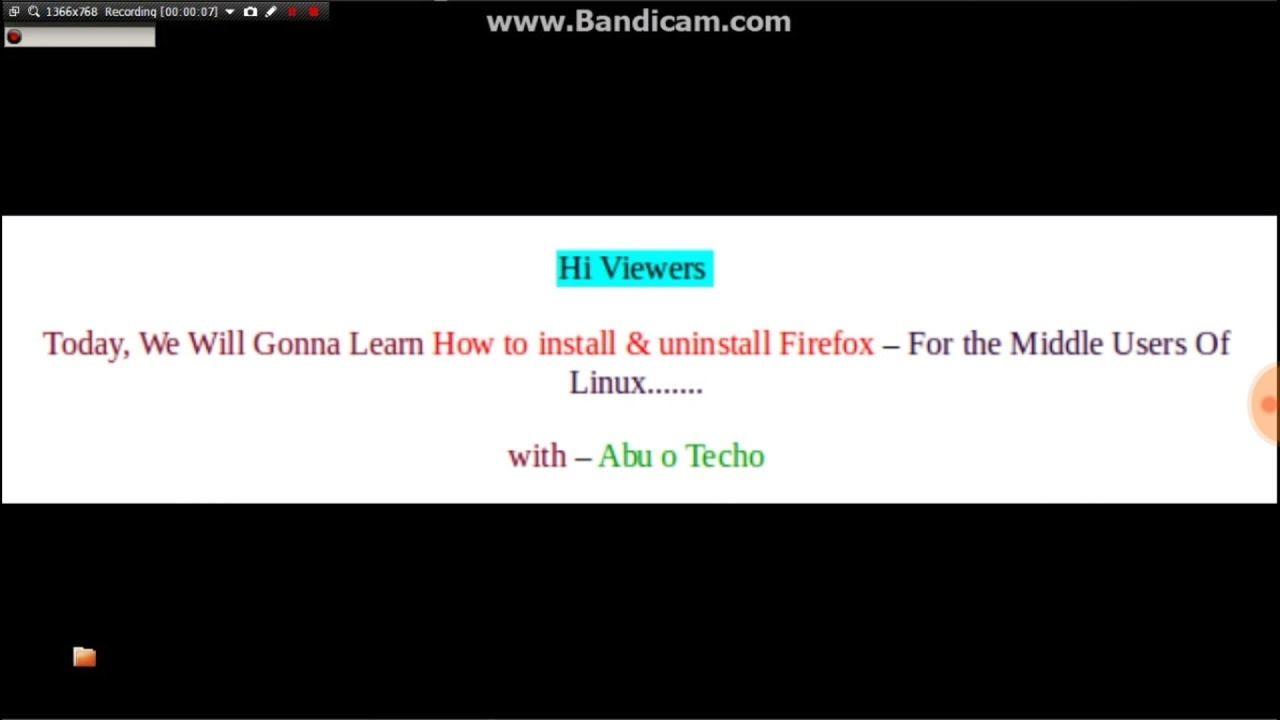 How to install & uninstall Firefox with terminal-ubuntu
