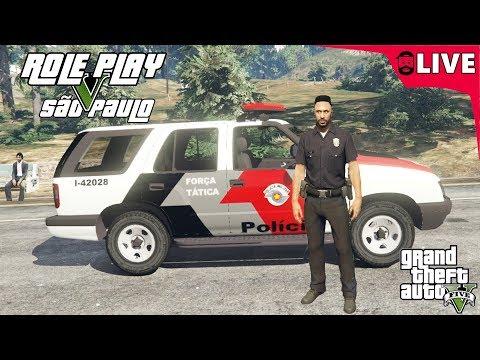 GTA V : ROLEPLAY VIDA DE POLICIAL #2