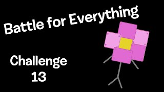 BFDI Camp (BFE) Elimination 13, Challenge 13, Debute 2 (International Version)