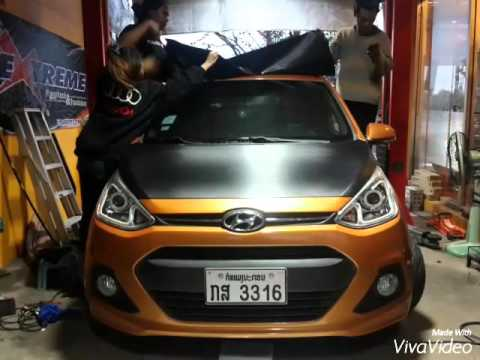 hyundai i 10 exterio tuning by ray youtube. Black Bedroom Furniture Sets. Home Design Ideas
