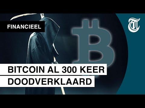 'Bitcoin is al 300 keer doodverklaard' - CRYPTO-UPDATE