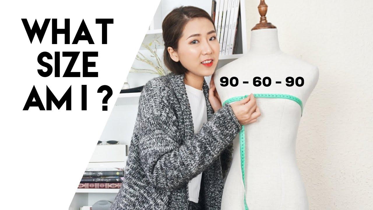 Cách lấy số đo tại nhà chuẩn như hoa hậu | What's your size ? Hướng dẫn đo 3 vòng | From Sue