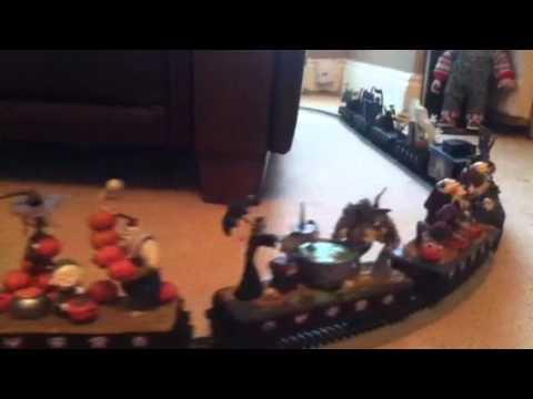 Nightmare before Christmas train - YouTube