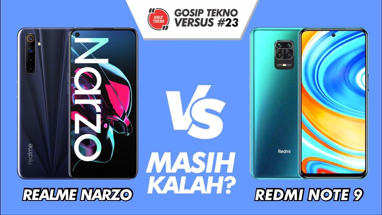 Realme Narzo VS Redmi Note 9 VERSUS #23 - GOSIP TEKNO INDONESIA