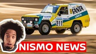Paris - Dakar Racer Restored & Happy New Year From NISMO NEWS!