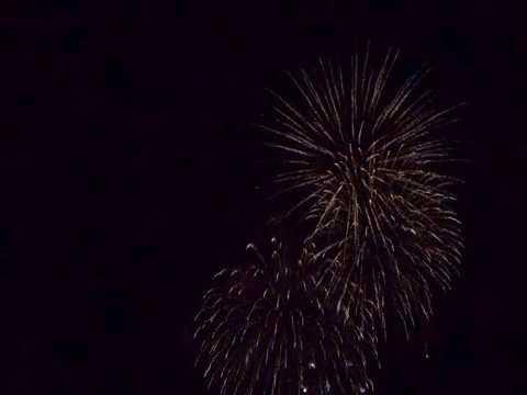 那覇ハーリー2018 打ち上げ花火