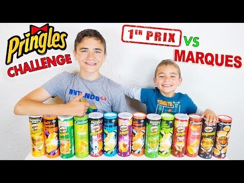 PRINGLES CHALLENGE - Marques VS Sous Marques !