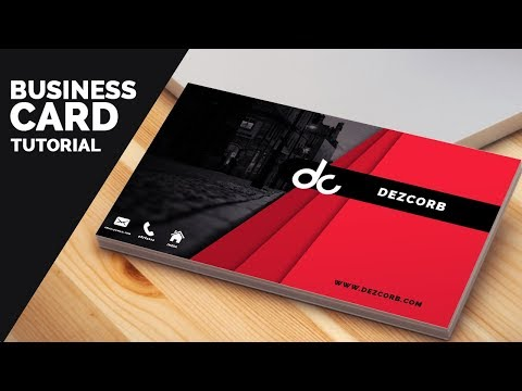 business card design in photoshop cs6 tutorial | Learn Photoshop
