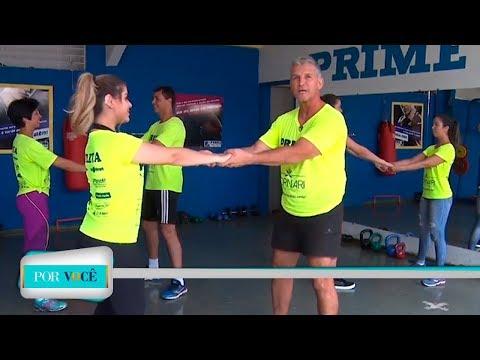 Por Você - Atividade Física: Exercícios em casal 09/06/18