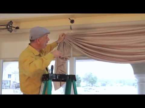 Video #41: Tips From Us: Swag Curtains - How to hold swag curtains in place