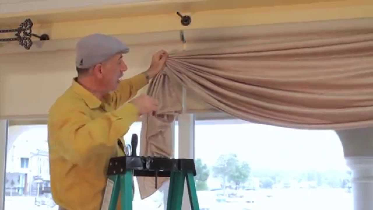 Video #41: Tips From Us: Swag Curtains - How to hold swag curtains ...
