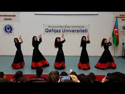Flamenco (İspan Rəqsi) | Qafqaz Universitetinin Rəqs Kollektivi