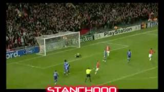 CRISTIANO RONALDO ALL GOALS WITH MANCHESTER UNITED 2003-2009 NEW HD BY STANCH000