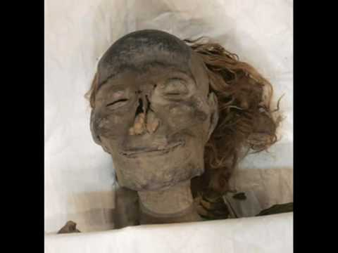 Egyptian mummies- not for children.