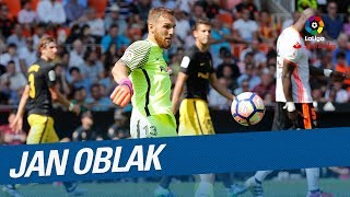 TOP 10 Saves Jan Oblak LaLiga Santander 2016/2017 - Zamora Trophy
