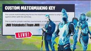 🔴Live (EU) FORTNITE CUSTOM MATCHMAKING SCRIMS (SOLO,DUO,TRIO) WINNER GETS GIFT 🔴