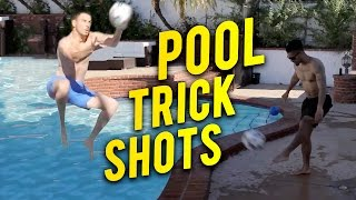 EPIC TRICK SHOTS! | F2 GOES HOLLYWOOD