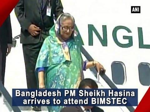 Bangladesh PM Sheikh Hasina arrives on Day 2 of BRICS Summit - ANI News