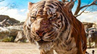 Mowgli Meets Shere Khan Scene - THE JUNGLE BOOK (2016) Movie Clip