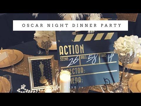 Oscar Night Dinner Party Ideas | Hollywood Glam