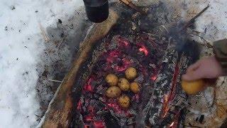 Печёная картошка вкус детства .