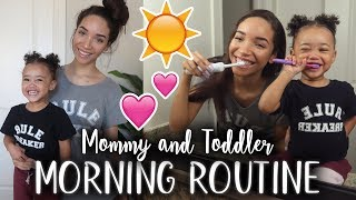 MORNING ROUTINE | Toddler & Single Mom! | RAVEN ELYSE