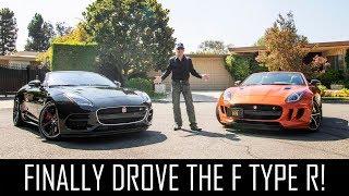 The Jaguar F-Type R is WILD!