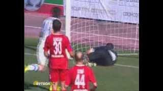 Севастополь - Днепр 2-1 сезон 2010/11 голы