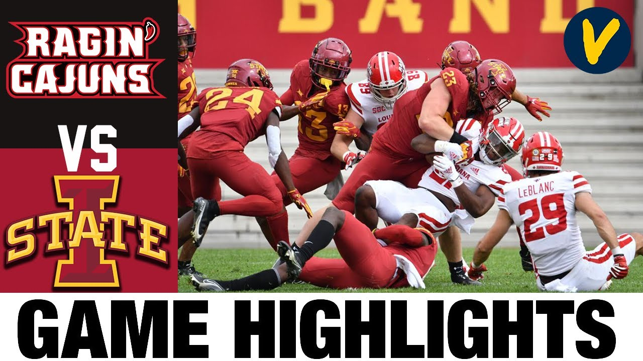 Louisiana vs #23 Iowa State Highlights | Week 2 College Football Highlights | 2020 College Football