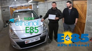 Installation kit / boitier Bio Ethanol (E85) sur sa CLIO 3 1.2L 75CH de Jonathan