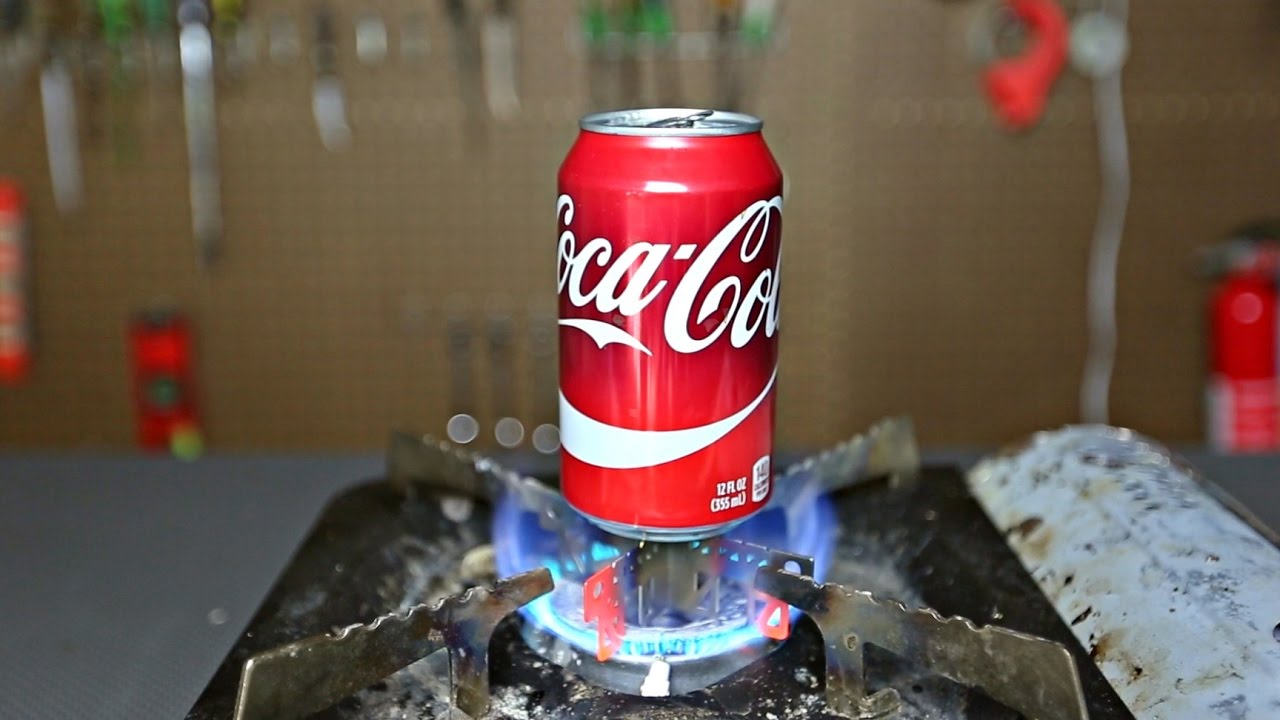 5 Science Experiments Using Soda Can - YouTube