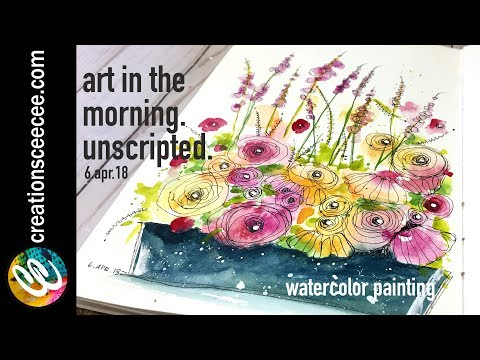 how-to-watercolor-and-doodle-an-easy-floral-arrangement
