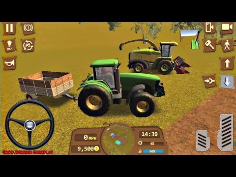 Farmer Sim 2018  - Carrer Mode: Transport Missions Android GamePlay FHD By OVILEX