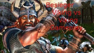Besieger Gameplay Viking-Human Vs Viking-AI Skirmish Mode