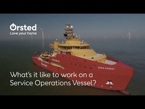 Living and working at sea: what's it like to work on a Service Operations Vessel?