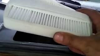 Ставим фильтр салона ланос