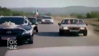 Чеченский свадебный конвой - (FOX.AZ)