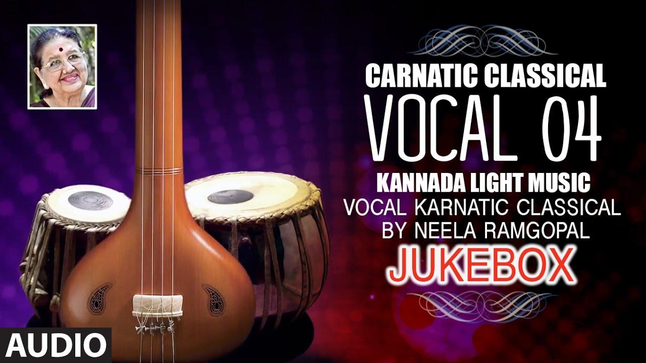 carnatic classical vocal 04 - kannada light music - vocal karnatic