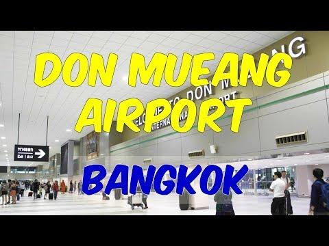 Don Mueang International Airport Bangkok (Full airport Tour Video)