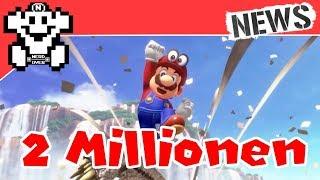 Mario Odyssey bereits 2 Millionen mal verkauft! - NerdNews #189